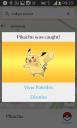 Uhuuul capturei Pikachu