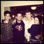 foto que o John Green postou no Instagram
